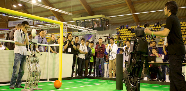 RoboCup 2013 the Final