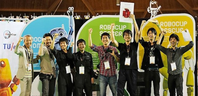 RoboCup 2013 Award Ceremony